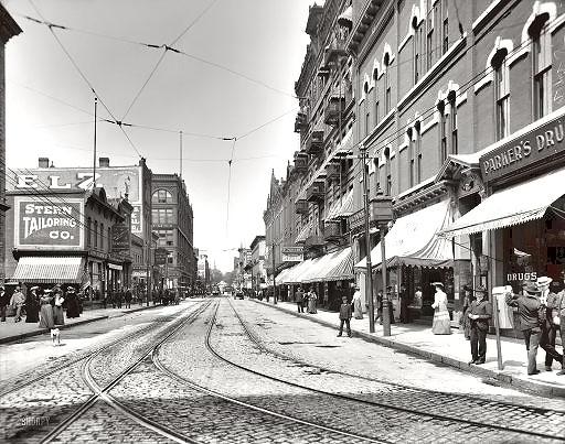 Wabasha Street in St. Paul, 1905